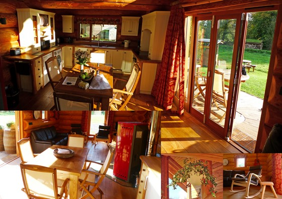 ludlow self-catering living area